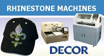 DECOR Automatic Rhinestone Machines