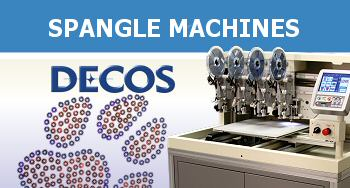 DECOS Automatic Spangle Machines