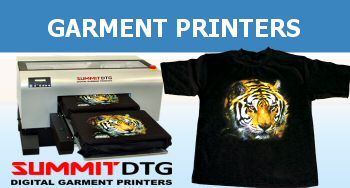 Summit DTG Direct To Garment Printers