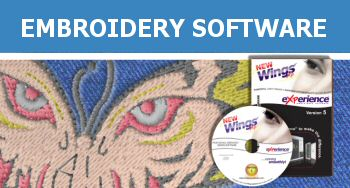 Wings' XP Embroidery Software