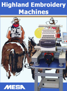 Highland Embroidery Machines
